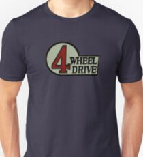 Toyota FJ40 Land Cruiser Four Wheel Drive Emblem T-Shirt