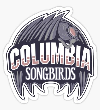Columbia Songbirds Sticker