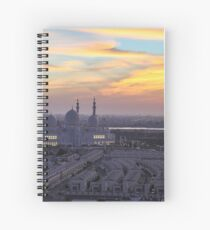 Grand Mosque Abu Dhabi Spiral Notebook