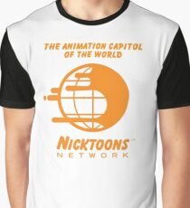 Nicktoons Network Graphic T-Shirt