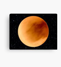 Dust Storm on Planet Dune Arrakis Canvas Print