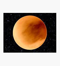 Dust Storm on Planet Dune Arrakis Photographic Print