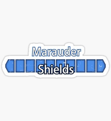 Marauder Shields Sticker