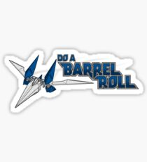 Do a Barrel Roll Sticker
