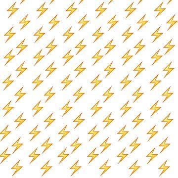 Lightning Emoji Pencil Skirt/Pillows/Case by jezzhands