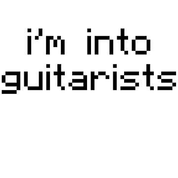 I'm Into Guitarists - 5SOS 8 Bit by jezzhands