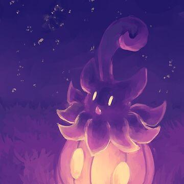 Night Pumpkaboo by Insane-Furrets
