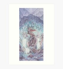 Fen's Forest Art Print