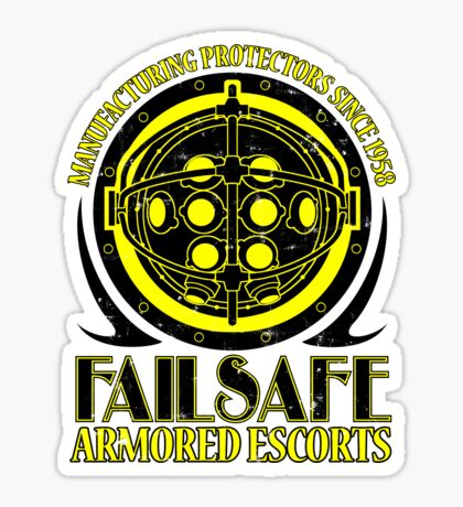 Failsafe Armored Escorts worn Sticker