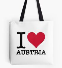 I love Austria Tote Bag