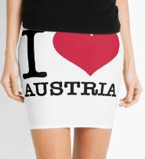 I love Austria Mini Skirt
