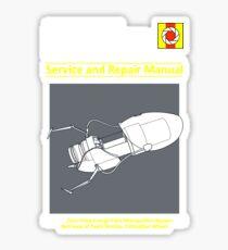 ASHPD Service and Repair Manual Sticker