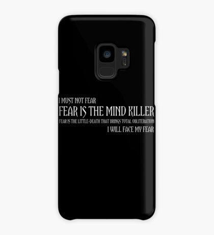 The Litany Against Fear Case/Skin for Samsung Galaxy