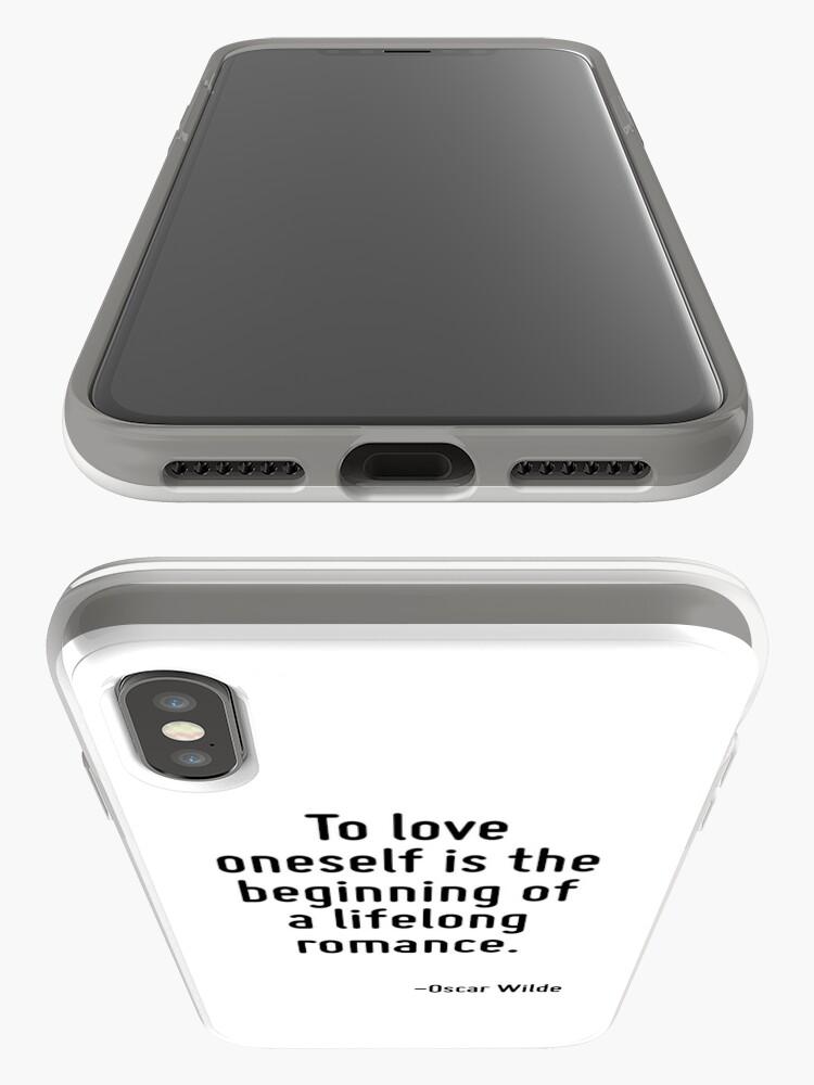 Alternative Ansicht von Sich selbst zu lieben ist der Beginn einer lebenslangen Romanze. iPhone-Hülle & Cover