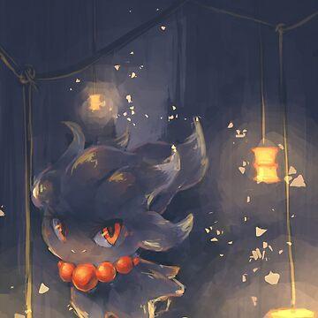 Lantern Misdreavus by Insane-Furrets