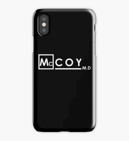 McCOY M.D iPhone Case/Skin
