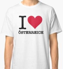 I love Austria Classic T-Shirt