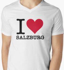 I Love Salzburg Men's V-Neck T-Shirt