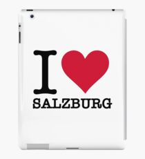 I Love Salzburg iPad Case/Skin