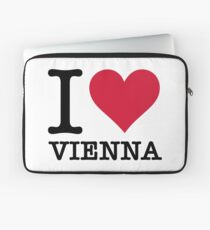 I Love Vienna Laptop Sleeve