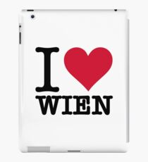 I Love Vienna iPad Case/Skin
