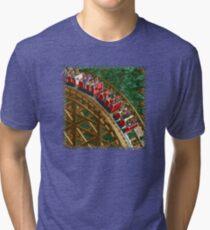 RCT - Wooden Roller Coaster Tri-blend T-Shirt