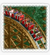 RCT - Wooden Roller Coaster Sticker