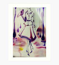 Fifties Art Print