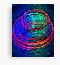 Spin - Abstract Digital Art Canvas Print