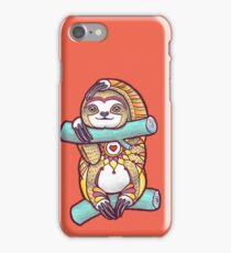 Mandala Sloth iPhone Case/Skin