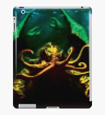 Pixelated Cthulhu Mythos iPad Case/Skin