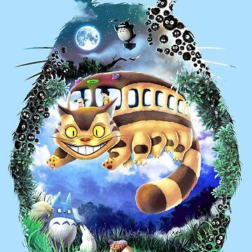 Your Neighbor Totoro by kolabs