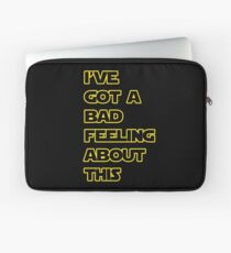 Star Wars Quote  Laptop Sleeve