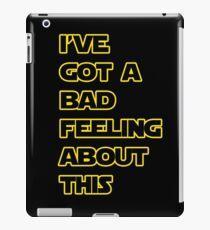 Star Wars Quote  iPad Case/Skin
