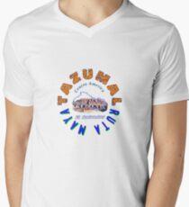 Tazumal El Salvador Ruta Maya V-Neck T-Shirt