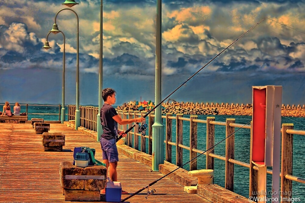 Catch of the Day by wallarooimages