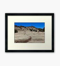 Yahi trail - Upper Bidwell park Chico, CA Framed Print