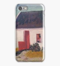 Irish Thatched Roof Cottage iPhone Case/Skin