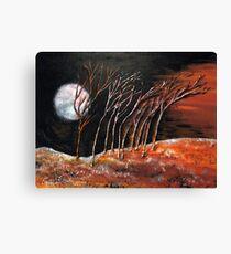 A moonlightnight Canvas Print