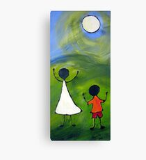 Happy children Canvas Print