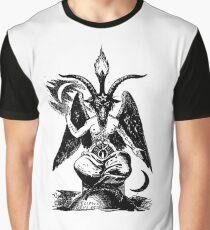 Baphomet Grafik T-Shirt