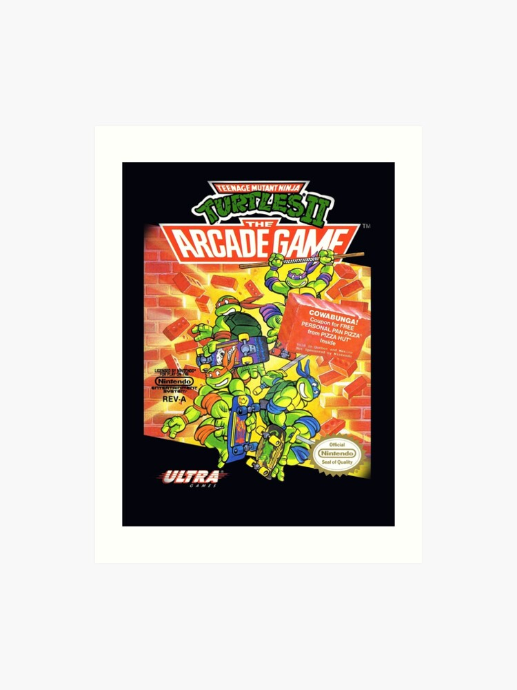 TMNT II: The Arcade Game | Art Print
