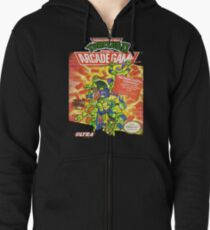 TMNT II: The Arcade Game Zipped Hoodie