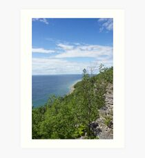 Gore Bay Bluffs Art Print