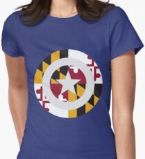 Captain Maryland Women's Fitted T-Shirt