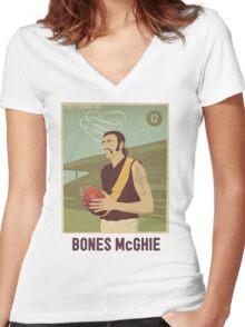 Bones McGhie - Richmond Women's Fitted V-Neck T-Shirt