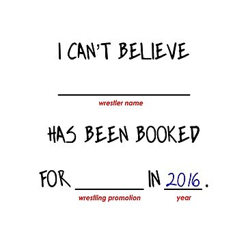 Booked in 2016 by pwponderings