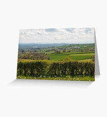 Beautiful French countryside Greeting Card