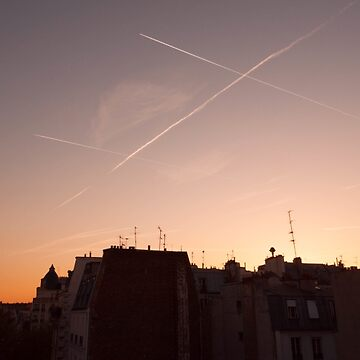 Parisian evening skyline by GreenNote