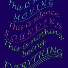 EVERYTHING ~ talking; walking; appearing; disappearing ! by TeaseTees